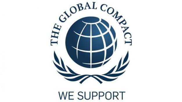 Logo der United-Nations-Global-Compact-Initiative.