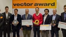 Die Preisträger des Vector Award von Igus