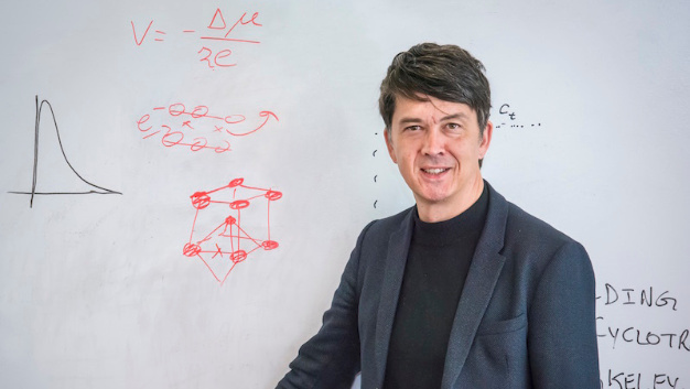 Gerbrand Ceder, professor in the  Department of Materials Science and Engineering at UC Berkeley