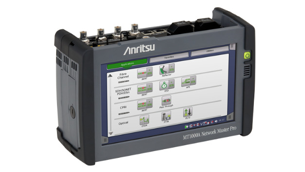 Anritsu erweitert den Funktionsumfang des Handheld-Testers MT1000A für den Test von 5G-Basisstationen.
