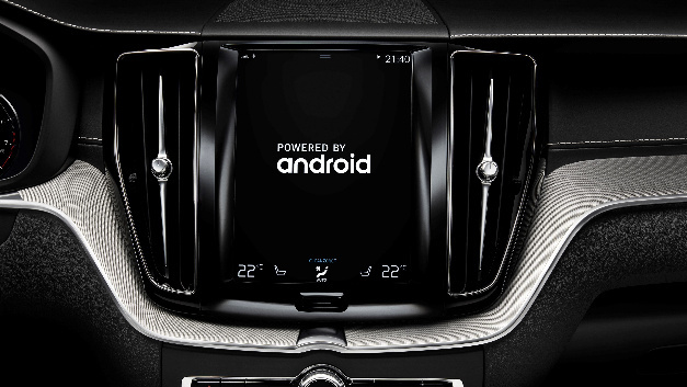 Das Infotainment-System »Sensus« von Volvo basiert auf dem Betriebssystem Google Android.