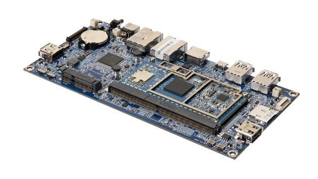 SOMDB2 Trägerkarte mit Qualcomm-Computermodul SOM-9X20.