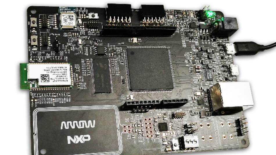 Das Entwicklungsboard HANI – HMI Arrow NXP IoT