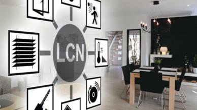 LCN sorgt für Komfort, Sicherheit und Energieeffizienz.