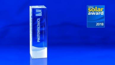 Intersolar AWARD 2018