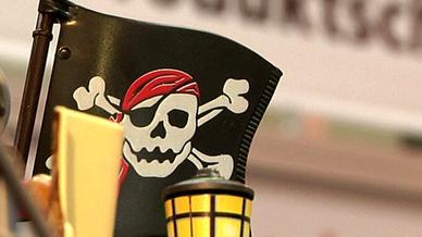 Produktpiraterie, Piratenflagge