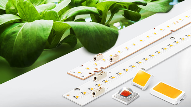 Samsung bringt die ersten eigenen LEDs und LED-Module zur Pflanzenbeleuchtung heraus.