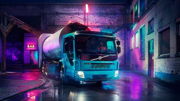 Volvo hat mit dem FE Electric ein zweites Lkw-Modell mit Elektroantrieb vorgestellt. Das erste Fahrzeug geht Ende 2018 bei Faun in Betrieb.