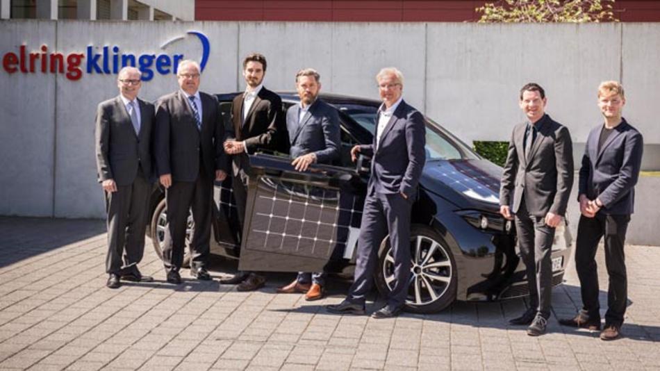 ElringKlinger liefert Batteriesysteme für das Solarfahrzeug von Sono Motors.