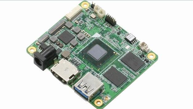 """Aaeon hat mit """"Up Core"""" sein bislang kleinstes Maker-Board entwickelt."""