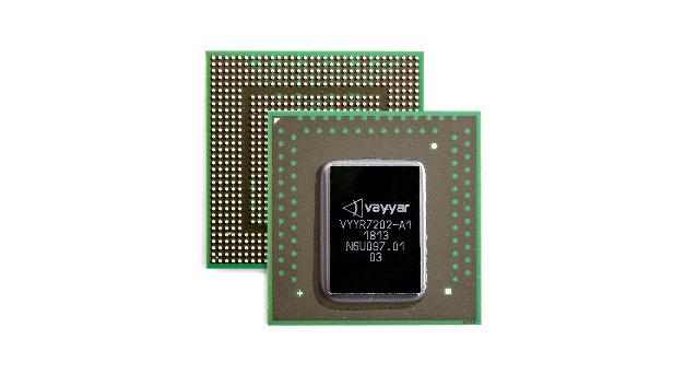 Der neue Chip von Vayyar Imaging deckt die Bildgebungs- und Radar-Frequenzbereiche von 3 GHz bis 81 GHz ab.