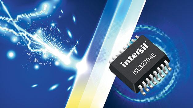 RS-485 Schnittstelle kombiniert Isolator- und Transceiver Funktion auf einem Chip.