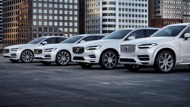 Volvo S90, V90, XC60 and XC90 T8 Twin Engine AWD Inscription