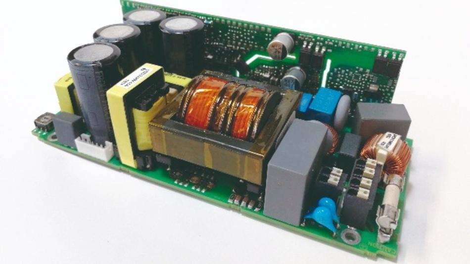 Auf Basis eines modularen Konzepts realisierter 150-W-4-Kanal-LED-Treiber (PSU-0164-09) mit universellen Steuerungsmöglichkeiten.