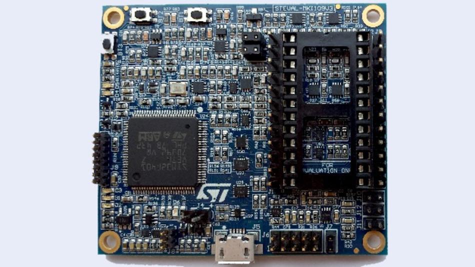 Das Board verarbeitet auch komplexe Datensätze wie etwa OIS/EIS – optische oder elektronische Bildstabilisierung von den fortschrittlichen 6-Achsen-Inertialmodulen