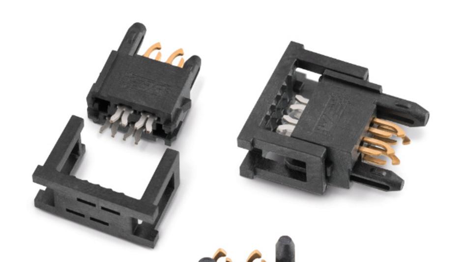 REDFIT IDC ist ein lötfreier Steckverbinder mit SKEDD-Kontakten in Direktstecktechnik