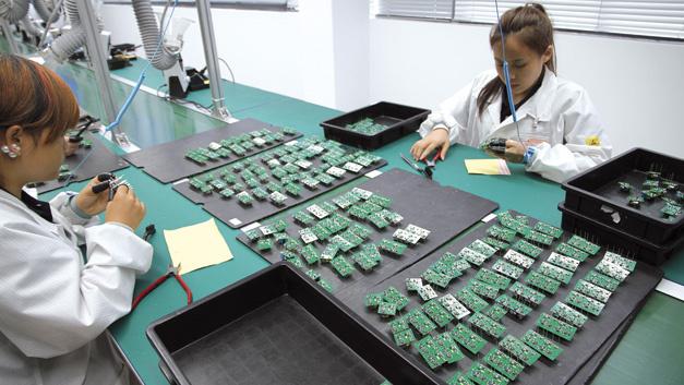 Noch in diesem Jahr wird Recom am neuen Fertigungsstandort Xiamen rund 450.000 AC/DC-Module fertigen. In Zukunft werden es rund 3Millionen sein.
