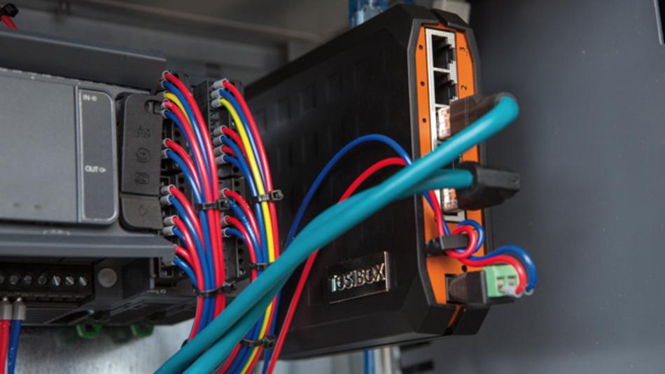 """Von Tosibox  für das IIoT: das Fernzugriffs- und Kommunikations-Modul Lock 200""""."""