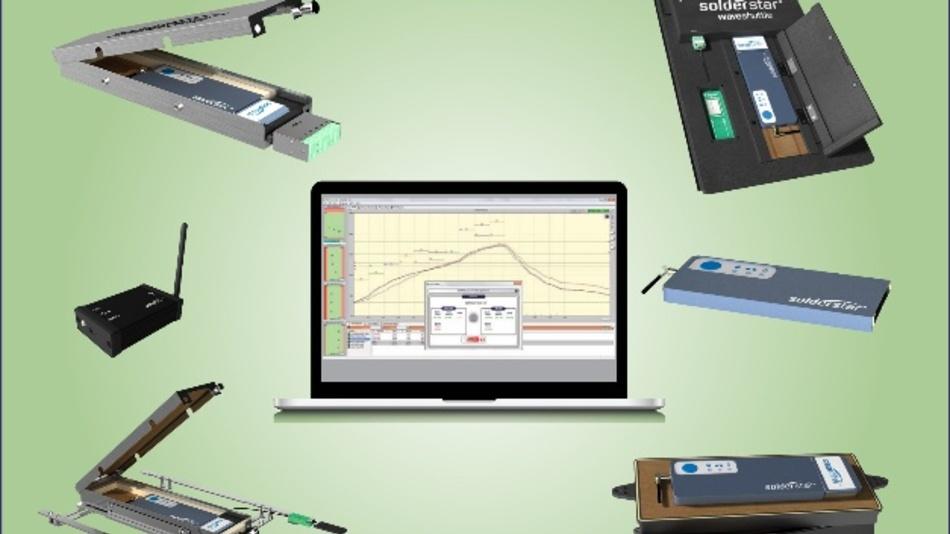 Solderstar zeigt seine neue Generation der Temperaturprofil-Messsysteme auf der SMT/Hybrid/Packaging 2018