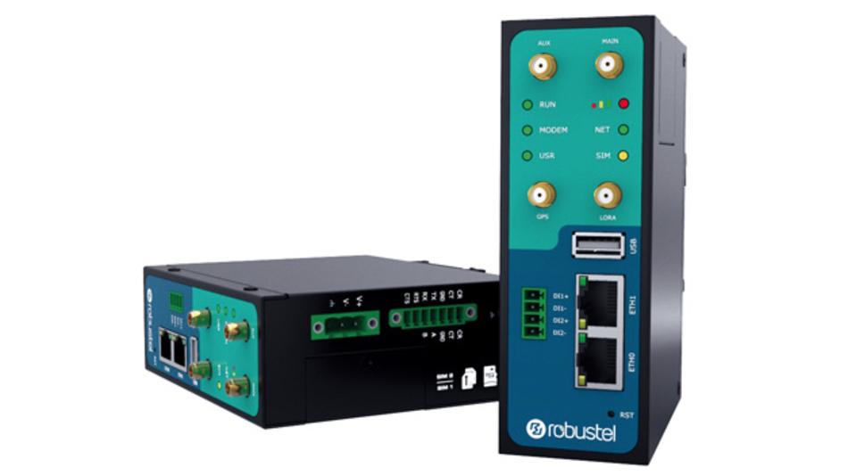 """Der Mobilfunk-Router """"R3000 LG"""" ist für die LoRaWAN-Datenübertragung zwischen dem LoRa-Knoten und der Cloud-Plattform optimiert."""