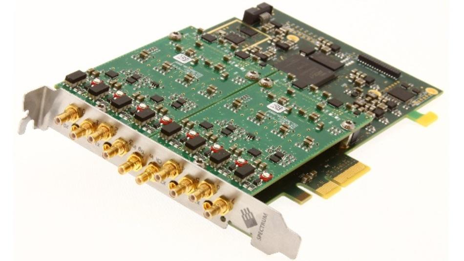 16-bit-Digitizer auf PCIe-Steckkarte: Die neuesten Modelle von Spectrum Instrumentations Familie M2p.59xx arbeiten mit bis zu 125 MSa/s.