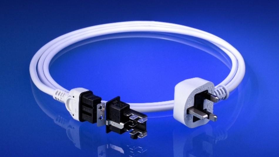 Das UACS1 ist ein standardisiertes und nach DIN EN 60320 zertifiziertes Geräteanschlusssystem.