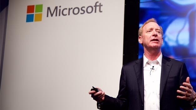 Microsoft-Präsident Brad Smith in Berlin.