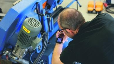 Smartwatches für die Fertigung, Workerbase