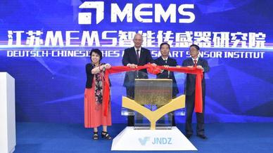 Eröffnung des Sensor Institutes