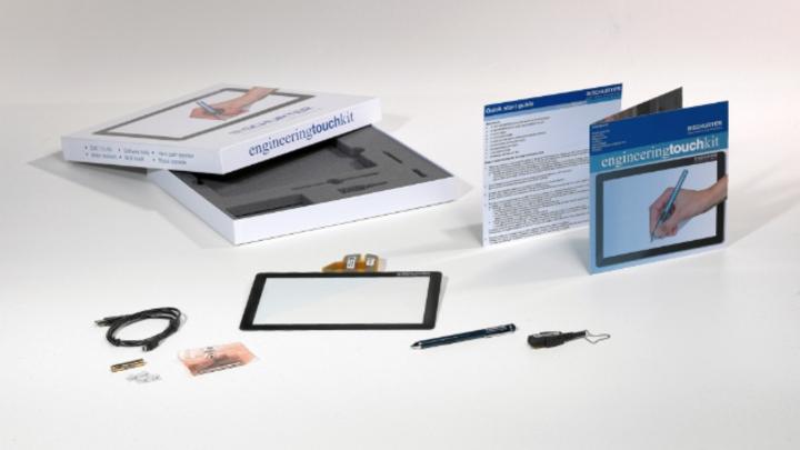 Um die Touchscreen-Fähigkeiten einem breiteren Publikum näher zu bringen, wird das Engineering TouchKit eingeführt.