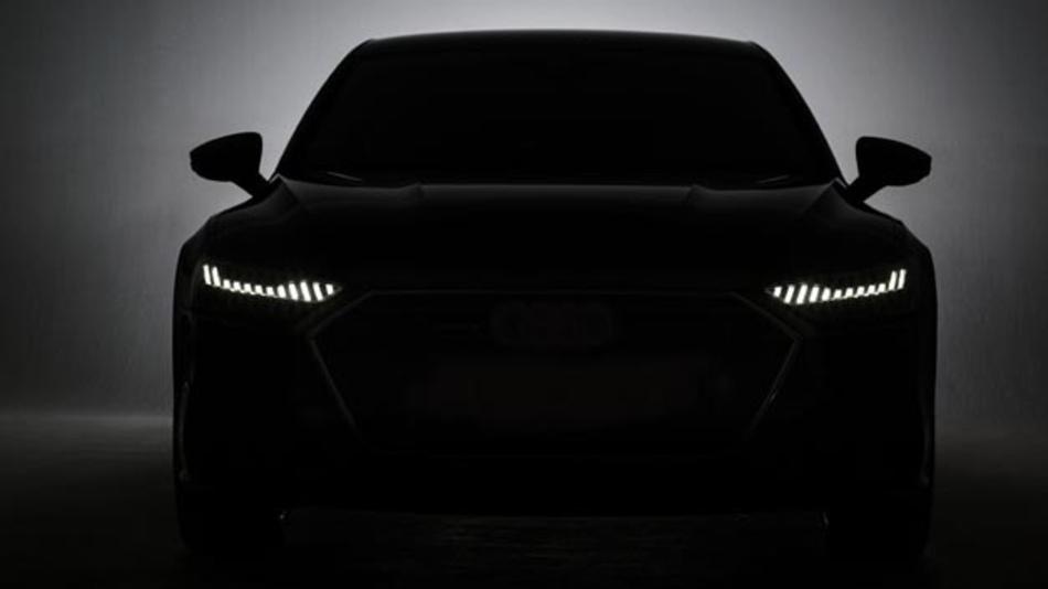 Die Tagfahrlichtsignatur besteht beim Audi A7 Sportback aus 12 Leuchtsegmenten, die durch schmale Zwischenräume getrennt sind.