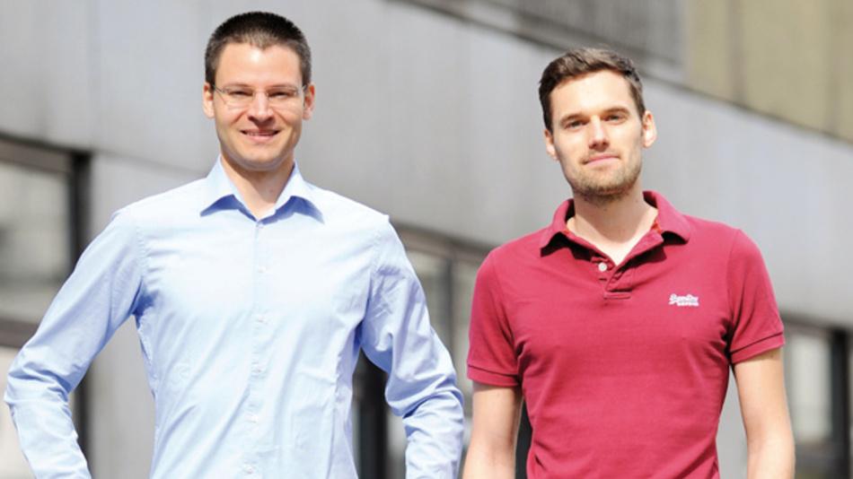Die Gründer von Luke Roberts:  Lukas Pilat (links) and Robert Kopka