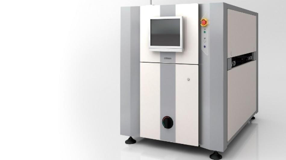 Inspektionssystem für Lötstellen: Das VT-X750 ist ein Hochgeschwindigkeitssystem für die Fertigungslinie. Es vermisst Komponenten  optisch und mittels Röntgenstrahlung.