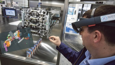 A_Augmented Reality mit der Hololens
