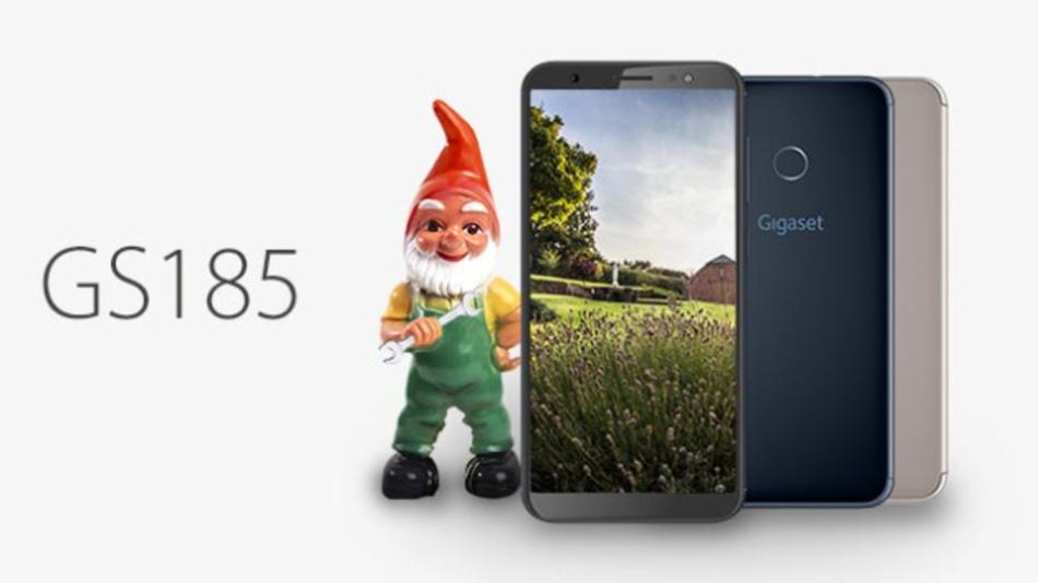 Gigaset setzt auch im Mobilgeschäft auf Made in Germany. Das neue GS 185 ist das einzige Smartphone, das derzeit in Deutschland gefertigt wird.