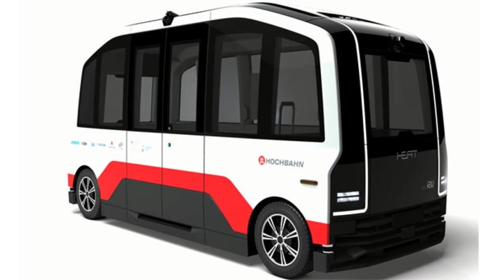 Für das Forschungs- und Entwicklungsprojekt Heat sind drei Fahrzeuge geplant, die allesamt von IAV kommen.