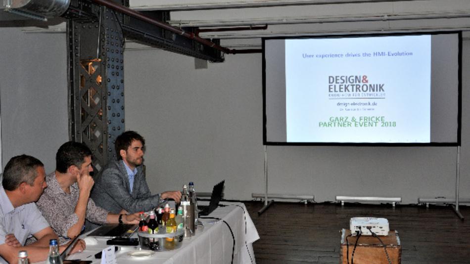 Beim Garz&Fricke Partner Event 2018 erklärte Dr. Constantin Tomaras (DESIGN&ELEKTRONIK), weshalb der HMI-Entwurf die Komplexität eines embedded-computing-Designs übertrifft.