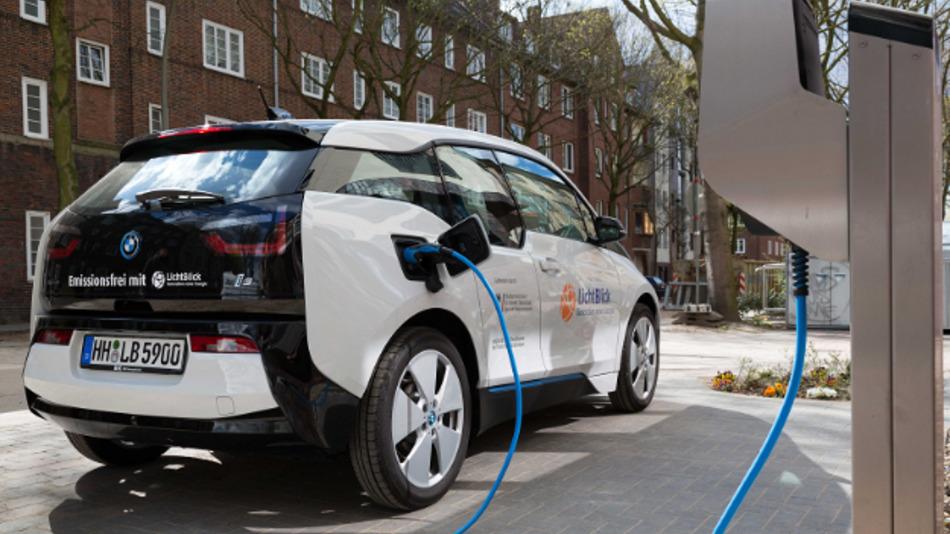 In Deutschland weiterhin eine Seltenheit: Elektroautos