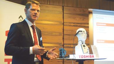 Jörg Schmidt von Toshiba Europe