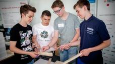 Erlebniswelt für Schüler bei Busch-Jaeger