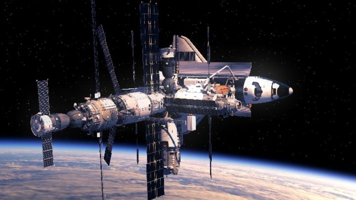 Pflanzezucht auf der ISS: Die NASA erforscht Beleuchtungsparameter mit der Osram-Forschungsleuchte Phytofy-RL.