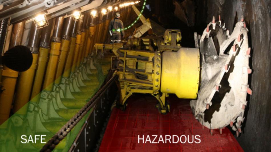 Der Einsatz von HF-Sensornetzen und Lokalisierungs-Services steigert nicht nur die Effizienz der Arbeitsvorgänge in Bergwerken, sondern erhöht gleichzeitig die Sicherheit.