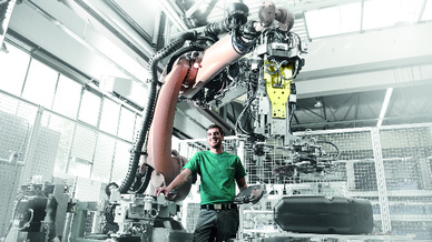 Roboter-basierte Anlage