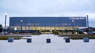 CityCube Berlin: Vom 6. bis 8. Juni 2018 findet hier der HSK 2018 statt.