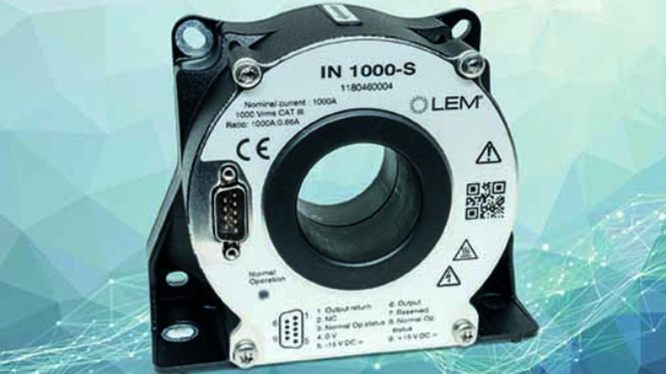 IN 1000-S Stromwandler mit erweitertem Temperaturbereich von -40 bis +85 °C.