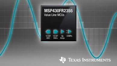 Mit Hilfe der neuen MSP430-MCUs lässt sich die Signalkette konfigurieren. Es gibt Optionen für mehrere 12-Bit-A/D-Wandler und Programmable Gain-Verstärker sowie einen 12-Bit-A/D-Wandler mit zwei verbesserten Komparatoren.