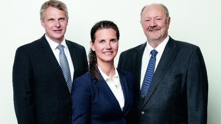 Der Viscom-Aufsichtsrat (v.l.): Prof. Dr.-Ing. Ludger Overmeyer , Prof. Dr. Michèle Morner und Volker Pape