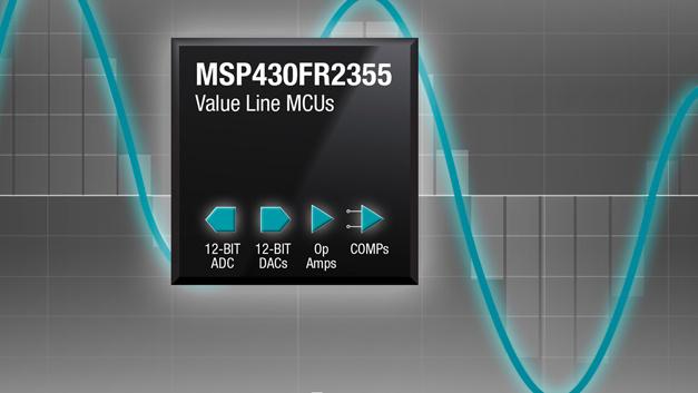 Mikrocontroller der MSP430-Familie mit programmierbaren Analog-Blöcken