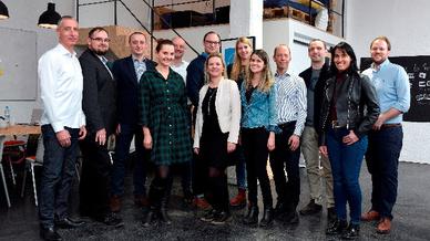 Die Start-ups des »Batch Zero«: FibriCheck (Belgien, Gewinner FXH Awards 2017), StethoMe (Polen, Gewinner FXH Awards 2017), Inveox (Deutschland), Medicus AI (Österreich, nicht abgebildet), SagivTech (Israel).