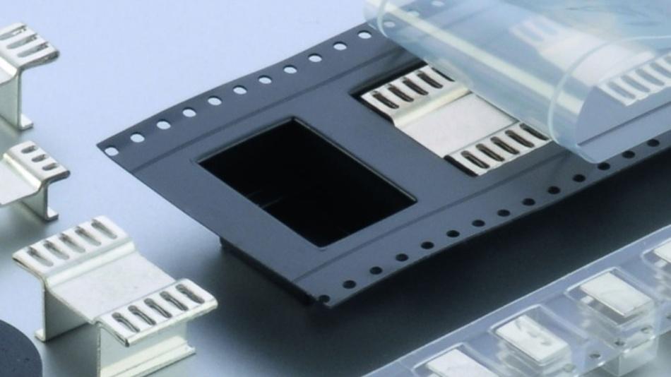 Bild 1: Für die automatische Bestückung lassen sich Kühlkörper in Blistergurten verpacken.